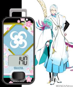 「刀剣乱舞」×「タニタ」歩数計 巴形薙刀