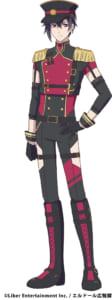 TVアニメ『アイ★チュウ』Alchemist 夜鶴黒羽 アイドル衣装