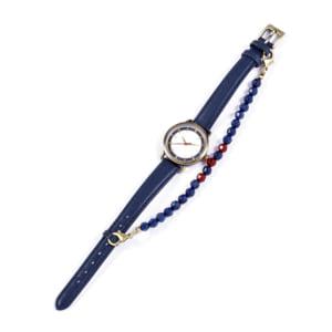 「刀剣乱舞-ONLINE-」×「SuperGroupies」腕時計 鳴狐 モデル