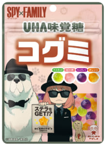 「SPY×FAMILY」×UHA「コグミ」コラボパッケージ