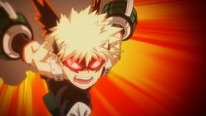 TVアニメ「僕のヒーローアカデミア」第5期1話 先行カット 爆豪