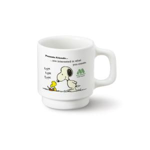 「スヌーピー」×「モスバーガー」スヌーピーセット オリジナルマグカップ
