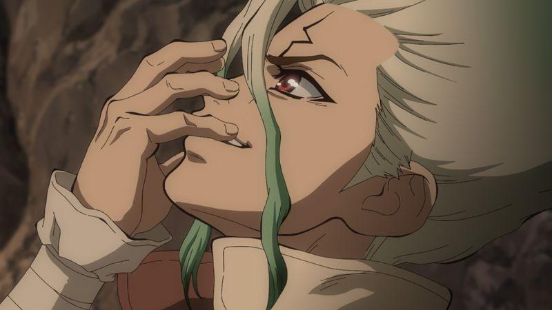 TVアニメ 「Dr.STONE」第2期キャストが選んだシーン場面写・最終回2