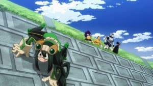 TVアニメ「僕のヒーローアカデミア」第5期1話 先行カット 蛙吹