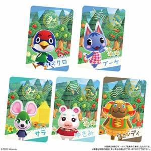 「あつまれ どうぶつの森 カードグミ 第2弾」スナップカードラインナップ