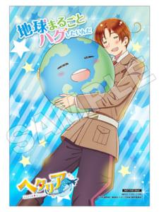 アニメ「ヘタリア World★Stars」主題歌CD アニメイト店舗特典ブロマイド