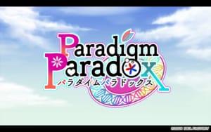 「Paradigm Paradox」タイトル