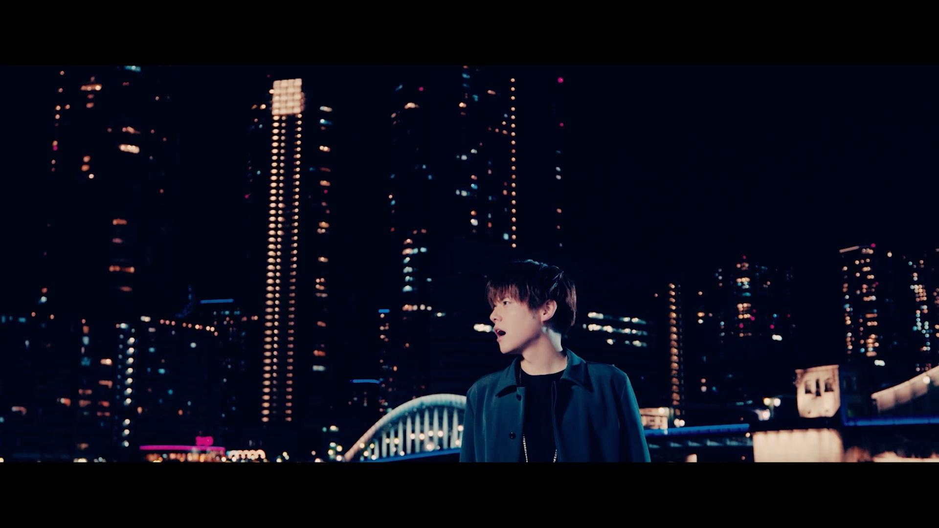 内田雄馬さん8thシングル「Comin' Back」MVカット 夜景バック
