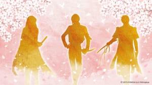 「刀剣乱舞-ONLINE-」×「ロート製薬」シルエット