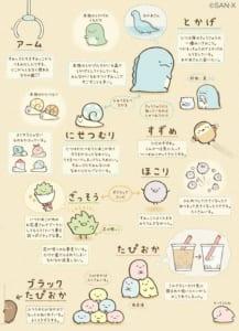 「すみっコぐらし」キャラクター紹介2
