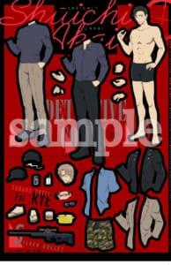 「Sho-Comi」×「名探偵コナン」付録:きせかえシール