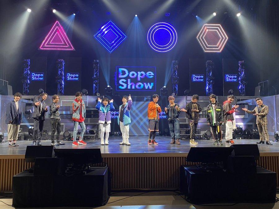 「パラライ」初のライブイベント「Paradox Live Dope Show」圧巻のパフォーマンスを見せたキャスト陣総勢12名のオフショット&ツイートまとめ