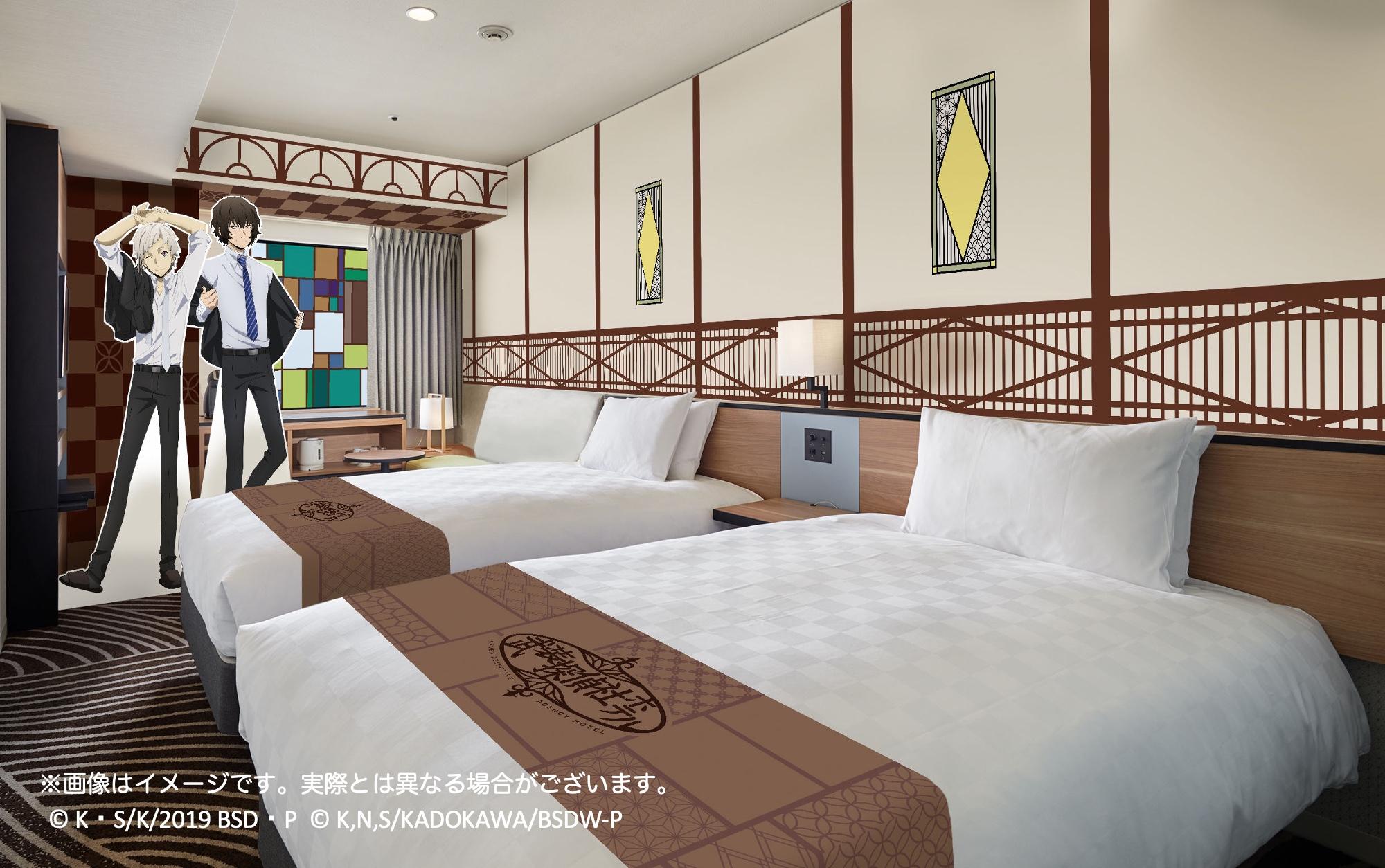 「文豪ストレイドッグス」×「イケプリ25」武装探偵社ホテル