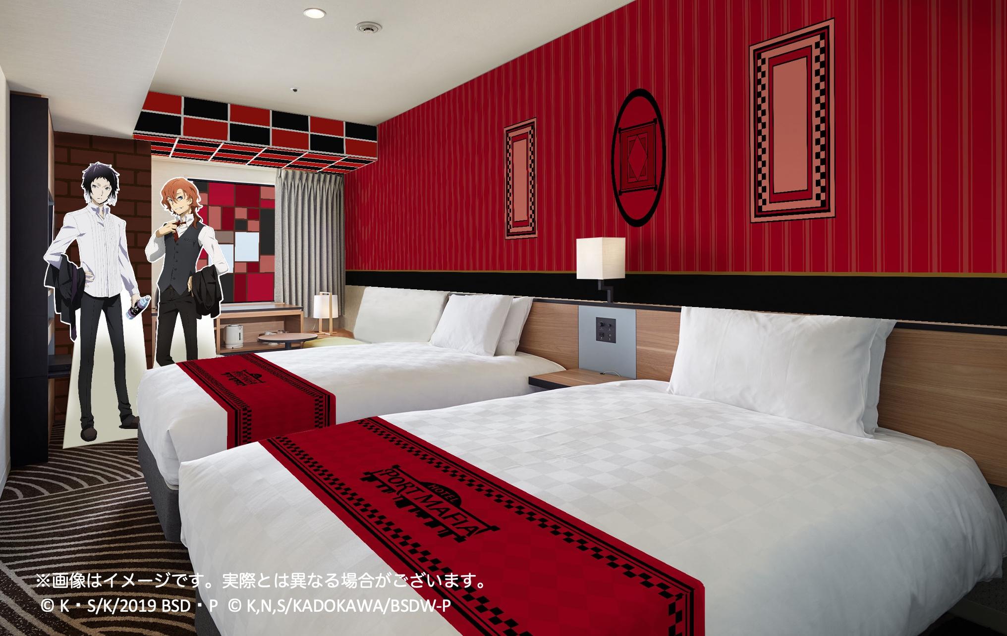 「文豪ストレイドッグス」×「イケプリ25」ポートマフィアホテル