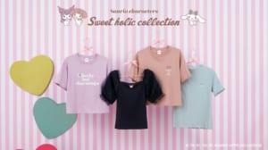 サンリオ×GU「Sweet holic collection」トップス