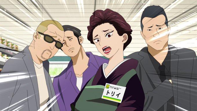 Netflixオリジナルアニメシリーズ「極主夫道」場面写・姐さんたち