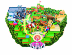 「スーパー・ニンテンドー・ワールド」エリアマップ