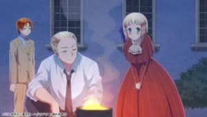 アニメ「ヘタリア World★Stars」#1場面カット(ドイツたち)