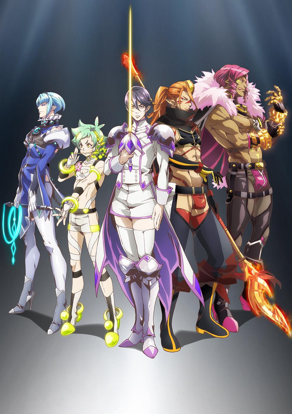 TVアニメ「Fairy蘭丸」変身後コスチュームに身を包んだ最新キービジュアル&1話あらすじ公開!