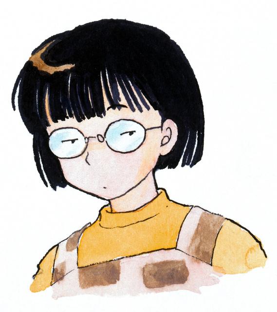 高橋留美子先生 自画像