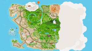 「P.A.LAND」地図 全景