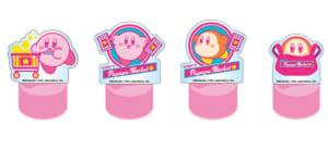 「KIRBY'S PUPUPU MARKET」お買い上げ特典:アクリルボトルキャップステージ