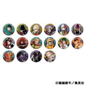 「ジャンプフェアinアニメイト2021」『僕のヒーローアカデミア』コレクション缶バッジ 第6弾(全16種)