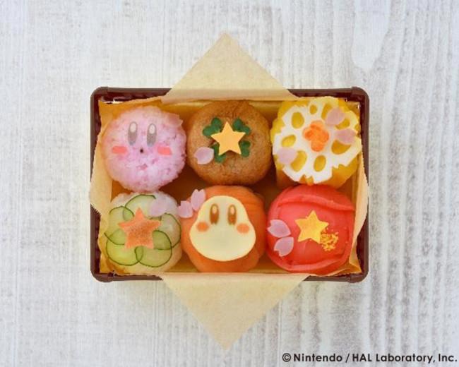 Kirby Café (カービィカフェ)」春のまんまるピクニックフェアさくら舞う ころころてまり寿司