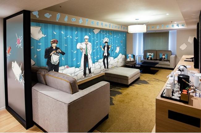 「銀魂」修学旅行がテーマのコンセプトルームが登場!サンシャインシティプリンスホテルとのコラボ実施