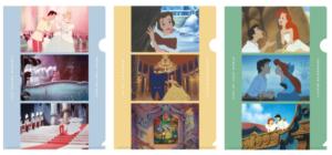 「ディズニープリンセス パーティーモーメント」クリアファイル 各297円