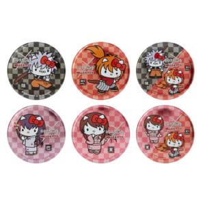 「るろうに剣心×HELLO KITTY」缶バッジ(全6種)