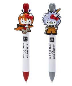「るろうに剣心×HELLO KITTY」3色ボールペン&シャープペンシル(全2種)
