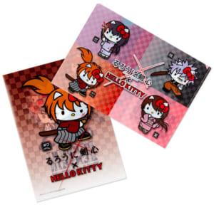 「るろうに剣心×HELLO KITTY」A4クリアファイルセット