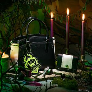 「ディズニー ツイステッドワンダーランド」×「& chouette」ディアソムニア寮:ハンドバッグ、ミニ財布、チャーム