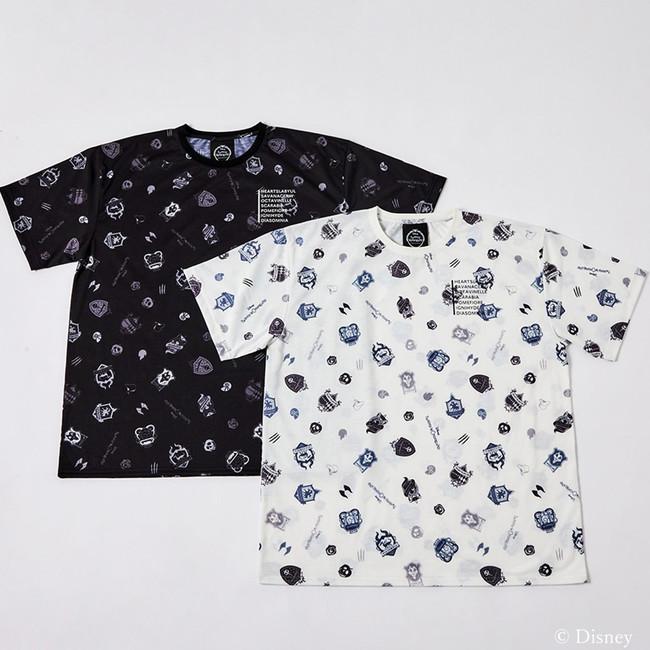 「ディズニー ツイステッドワンダーランド」×「& chouette」オリジナルデザインTシャツ