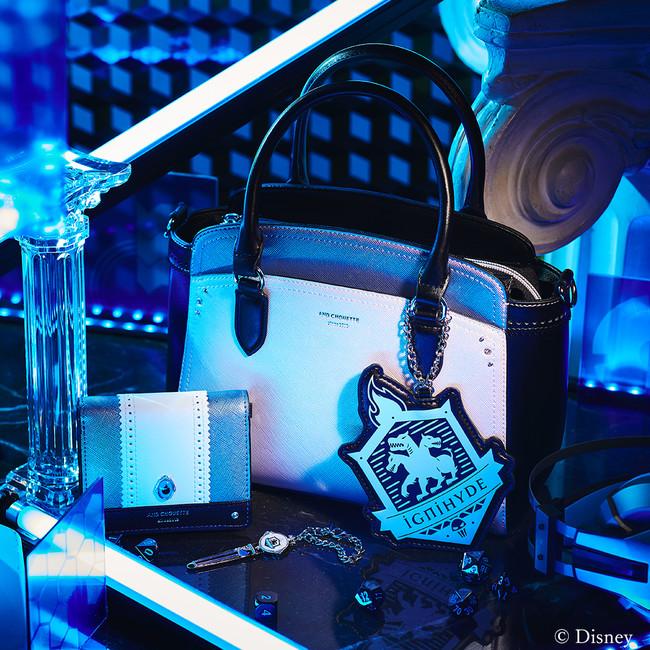 「ディズニー ツイステッドワンダーランド」×「& chouette」イグ二ハイド寮:ハンドバッグ、ミニ財布、チャーム