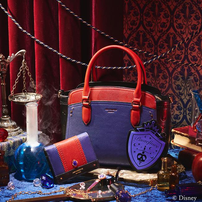 「ディズニー ツイステッドワンダーランド」×「& chouette」ポムフィオーレ寮:ハンドバッグ、ミニ財布、チャーム