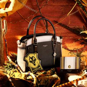 「ディズニー ツイステッドワンダーランド」×「& chouette」サバナクロー寮:ハンドバッグ、ミニ財布、チャーム