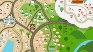 「P.A.LAND」地図