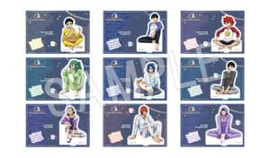 「弱虫ペダル GLORY LINE × Chugai Grace Cafe」アクリルフィギュアスタンド(全9種)