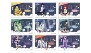 「弱虫ペダル GLORY LINE × Chugai Grace Cafe」ご来店プレゼント:ペーパーランチョンマット