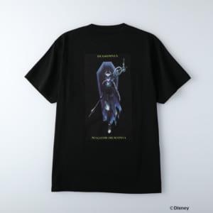ディズニーツイステッドワンダーランド/半袖Tシャツ ディアソムニア寮/マレウス・ドラコニア ブラック