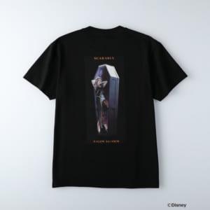 ディズニーツイステッドワンダーランド/半袖Tシャツ スカラビア寮/カリム・アルアジーム ブラック