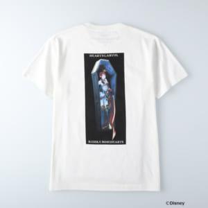ディズニーツイステッドワンダーランド/半袖Tシャツ ハーツラビュル寮/リドル・ローズハート ホワイト
