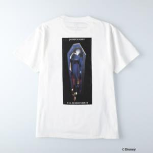 ディズニーツイステッドワンダーランド/半袖Tシャツ ポムフィオーレ寮/ヴィル・シェーンハイト ホワイト