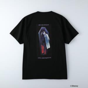 ディズニーツイステッドワンダーランド/半袖Tシャツ オクタヴィネル寮/アズール・アーシェングロット ブラック