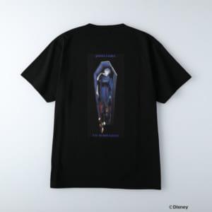 ディズニーツイステッドワンダーランド/半袖Tシャツ ポムフィオーレ寮/ヴィル・シェーンハイト ブラック