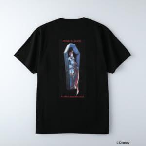 ディズニーツイステッドワンダーランド/半袖Tシャツ ハーツラビュル寮/リドル・ローズハート ブラック