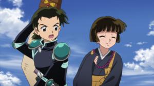 TVアニメ『半妖の夜叉姫』第22話先行カット