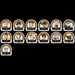 TVアニメ「呪術廻戦」ポップアップショップ 読売ジャイアンツコラボグッズ  ちびキャラ 耐候ステッカー